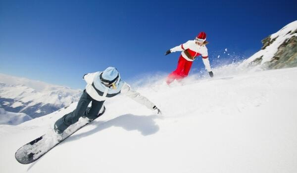 Freestyle vs Freeride Snowboarding 2