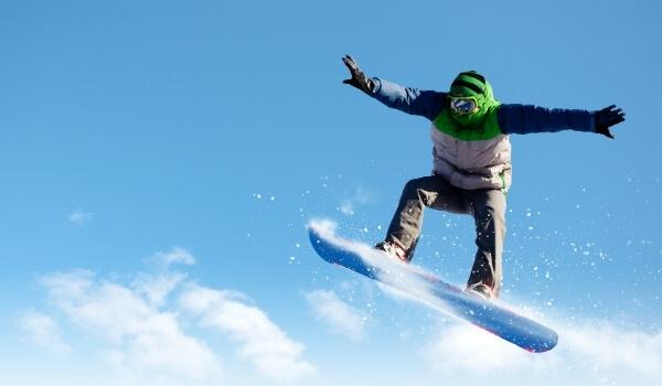 Freestyle vs Freeride Snowboarding 3