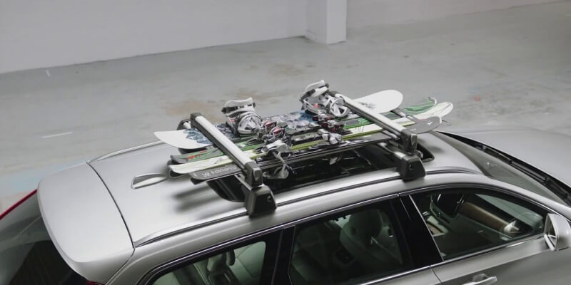 Snowboard Roof Rack