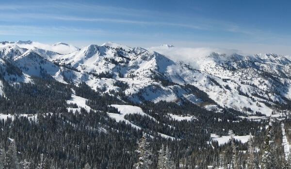 Snowboard in Utah 2