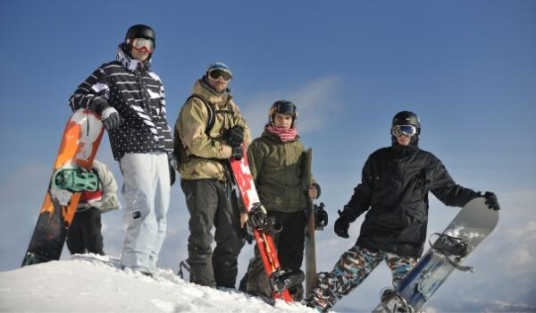 Snowboarding Calories 2