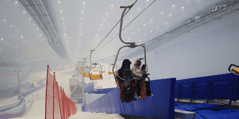 china skiing