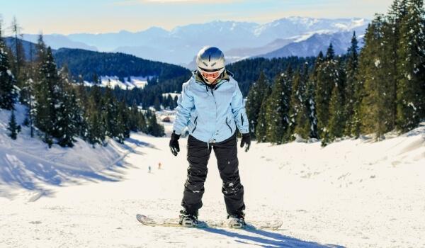 learn snowboarding