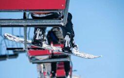 ski lift snowboard