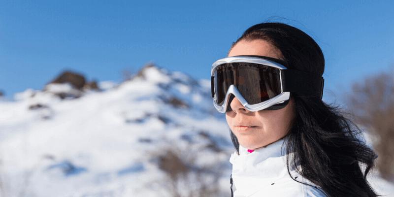 snow blindness