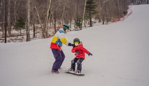 teach snowboarding 3
