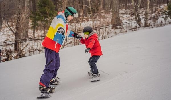 teach snowboarding 4