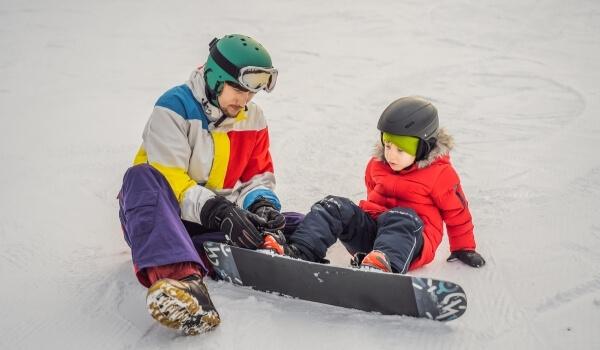 teach snowboarding 5