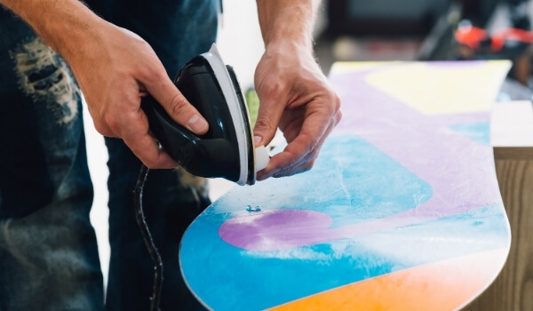 wax snowboard 1